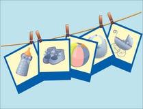 Barns födelsedagkort. Arkivbilder