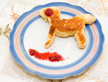 Barns frukost arkivbilder