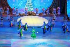 Barns julshow Royaltyfri Foto