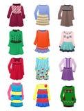 Barns klänningar Arkivfoto