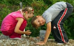 barns lekplats Fotografering för Bildbyråer