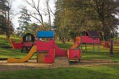 barns lekplats Arkivfoto