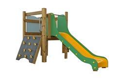 Barns lekplatsaktivitet Arkivfoton