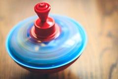 Barns leksak för snurröverkant Fotografering för Bildbyråer