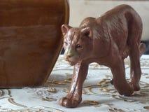 Barns leksakdjur hemma royaltyfri foto