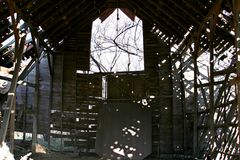 Barns of the Midwest `Grandaddy of them All` Stock Image