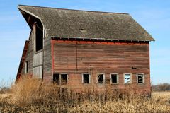Barns of the Miwest Royalty Free Stock Photos