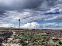Barns Ness Lighthouse. East Lothian, Scotland Stock Photo
