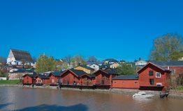 Barns of Porvoo. Royalty Free Stock Photography