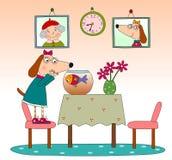 Barns sida för bok Fotografering för Bildbyråer