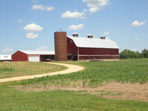 Barns and silos Stock Images