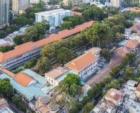 Barns sjukhus av den Ho Chi Minh staden Arkivfoton