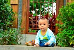 Barns startande linje Royaltyfri Fotografi