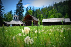 Barns and storage sheds Royalty Free Stock Photography