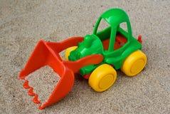 Barns toy: bulldozer Royaltyfria Bilder