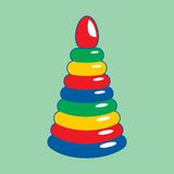 Barns toy också vektor för coreldrawillustration Royaltyfria Foton