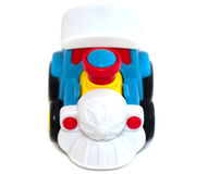 Barns Toy Train Royaltyfri Foto