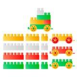 barns toys royaltyfri illustrationer