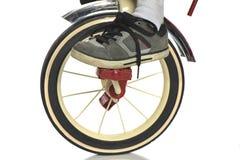 Barns trehjuling med skon Royaltyfri Bild