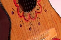 barns ukulele fotografering för bildbyråer