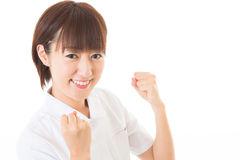 Barnsjuksköterska Arkivfoton