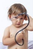 Barnsjukvård och skydd Arkivfoto