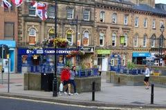 Barnsley het UK stock afbeeldingen