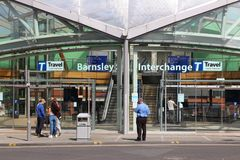 Barnsley Interchange Royalty Free Stock Images