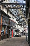 Barnsley Victorian Arcade. BARNSLEY, UK - JULY 10, 2016: The Victorian Arcade in Barnsley, UK. Barnsley is a major town of South Yorkshire with population of 91 stock photo
