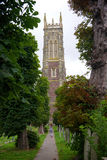 Barnstaple северный Девон Великобритания Стоковые Фотографии RF