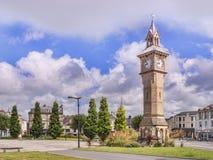 Barnstaple Devon Αλβέρτος Clock Στοκ εικόνα με δικαίωμα ελεύθερης χρήσης