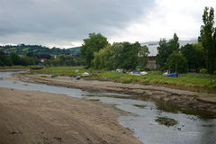 Barnstaple Devon del nord Regno Unito Fotografie Stock Libere da Diritti