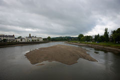 Barnstaple norr Devon UK Royaltyfri Fotografi