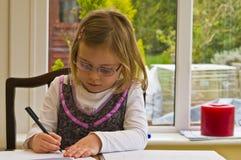 barnteckning Arkivfoton