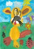 barnteckningar s Royaltyfria Bilder