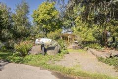 Barnträdgård i en parkera Oregon Fotografering för Bildbyråer