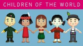 barnvärld Royaltyfri Bild
