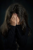 Barnvåld Fotografering för Bildbyråer