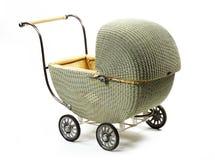 barnvagn danat gammalt Arkivbilder