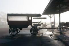 Barnvagnar i svart & vit Royaltyfri Foto