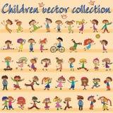 Barnvektor stock illustrationer