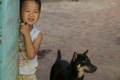 barnvietnames Royaltyfri Foto