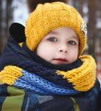 Barnvinter fotografering för bildbyråer