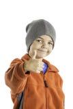 Barnvintern beklär 2 Arkivfoton