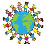 barnvärld Fotografering för Bildbyråer