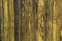 Barnwood amarelo desvanecido Imagem de Stock Royalty Free