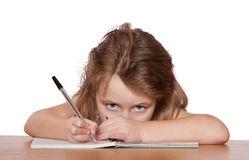 barnwriting Arkivbilder