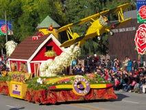 Barnyard-Asse an der Rosen-Schüssel-Parade stockbild
