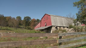 Barnyard barn (5 of 5) stock footage
