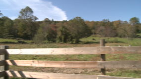 Barnyard barn (4 of 5). A view or scene on the farm stock footage